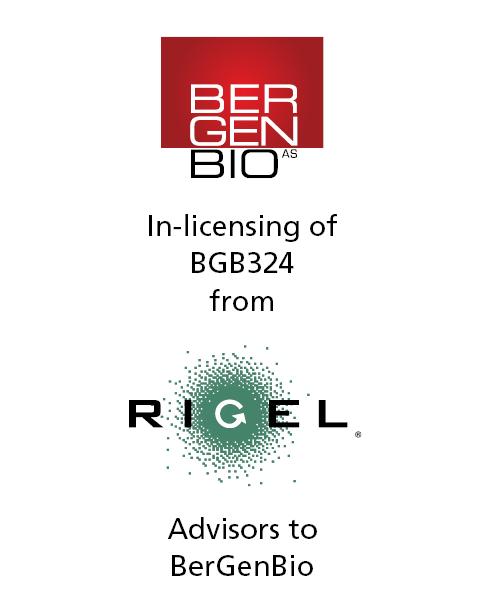 PharmaVenture Client Bergen Bio Licenses R428