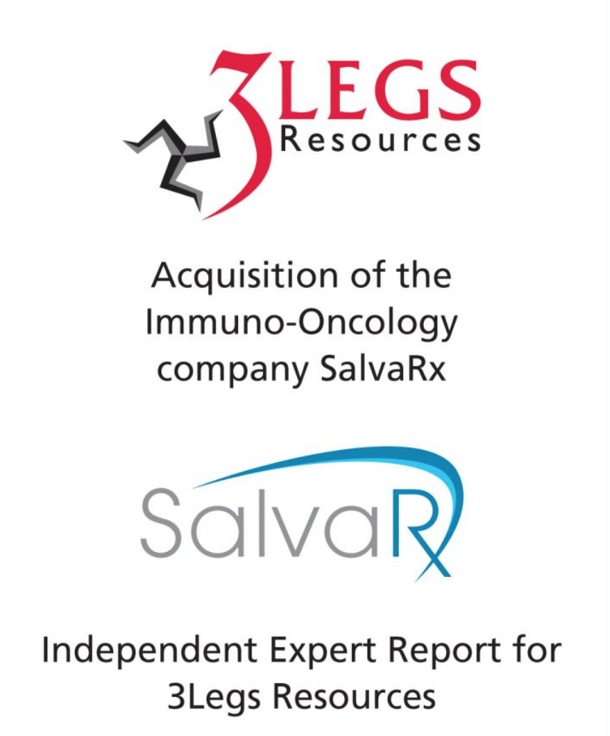 PharmaVentures advises 3Legs Resources on its acquisition of the Immuno-Oncology company SalvaRx who announced its admission for trading on AIM today