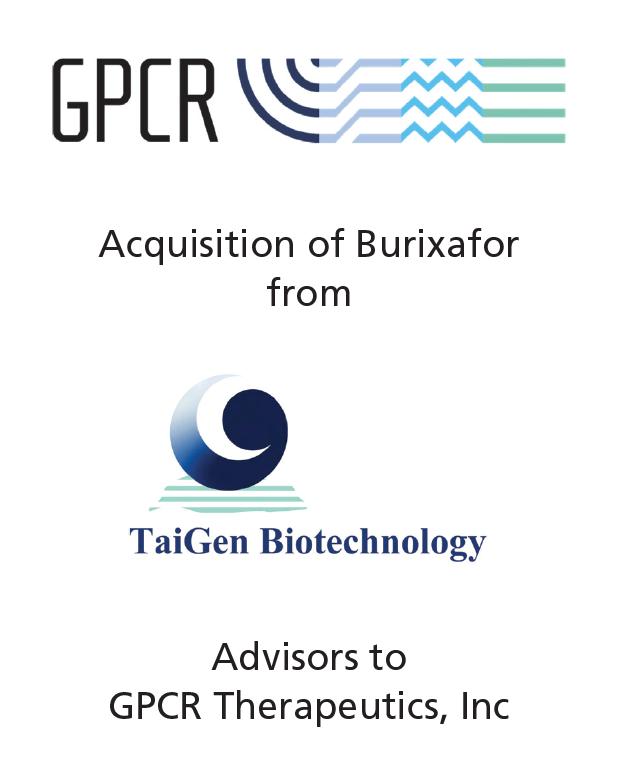 PharmaVentures advises GPCR Therapeutics on their acquisition of Burixafor