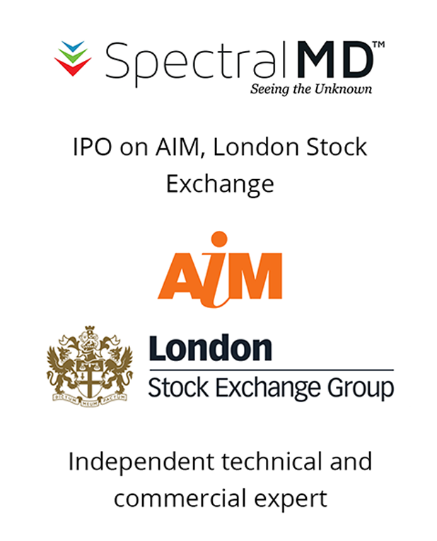 PharmaVentures acts as independent commercial expert with respect to Spectral MD's IPO listing this month on London's AIM